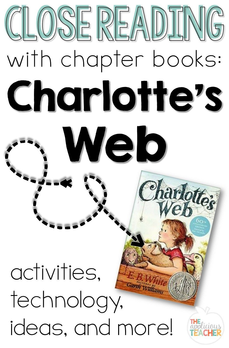 Close Reading with Charlotte's Web. So many great ideas! My favorite is how she integrated technology! Oh and the anchor chart? Genius!