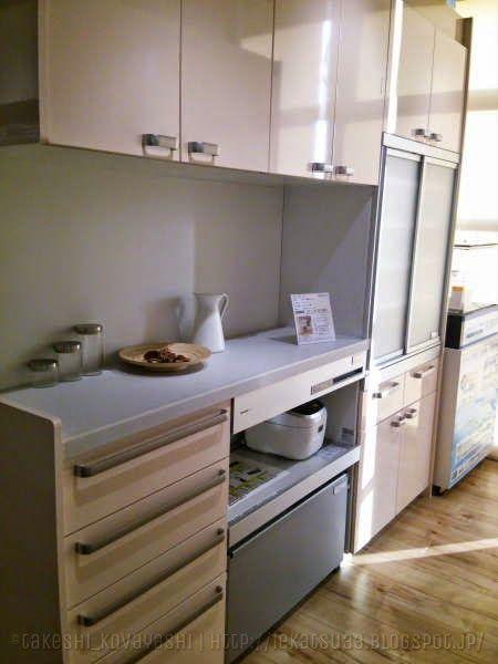 水回りの設備を決定 パナソニックとリクシルのショールーム カップボード編 カップボード システムキッチン リビング キッチン