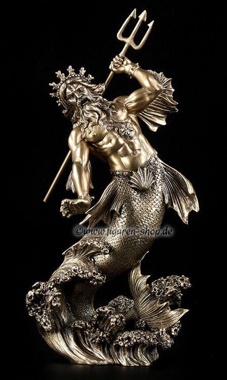Poseidon - griechischer Gott des Meeres