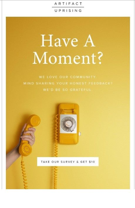 64 Examples Of Fantastic Email Copywriting Creative Survey