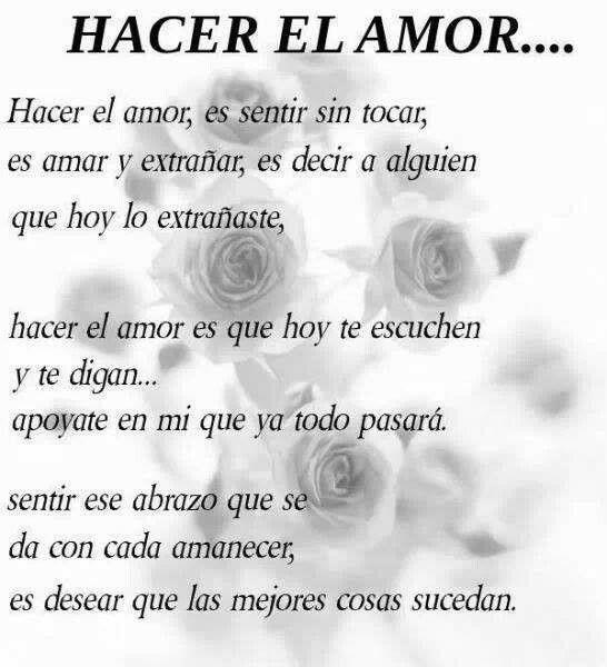 Hacer El Amor ❤