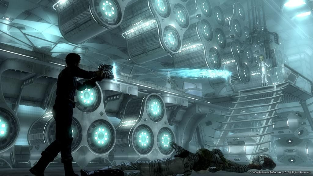 Fallout 3 Mothership Zeta Affiliate Fallout Mothership Zeta Fallout Fallout 3 Alien Ship