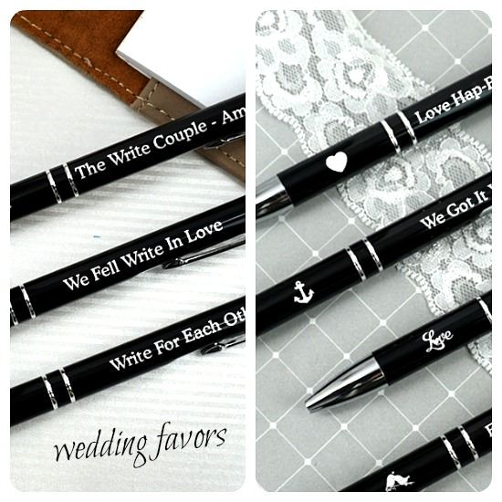 Personalized Ballpoint Pens Wedding Favors Retirement Family Reunion Birthday Party Wedding Favours Pens Wedding Souvenirs Wedding Gift Favors