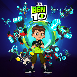 Ben 10 With Omni Enhanced Aliens Card Png Ben 10 Ben 10 Birthday Ben 10 Birthday Party