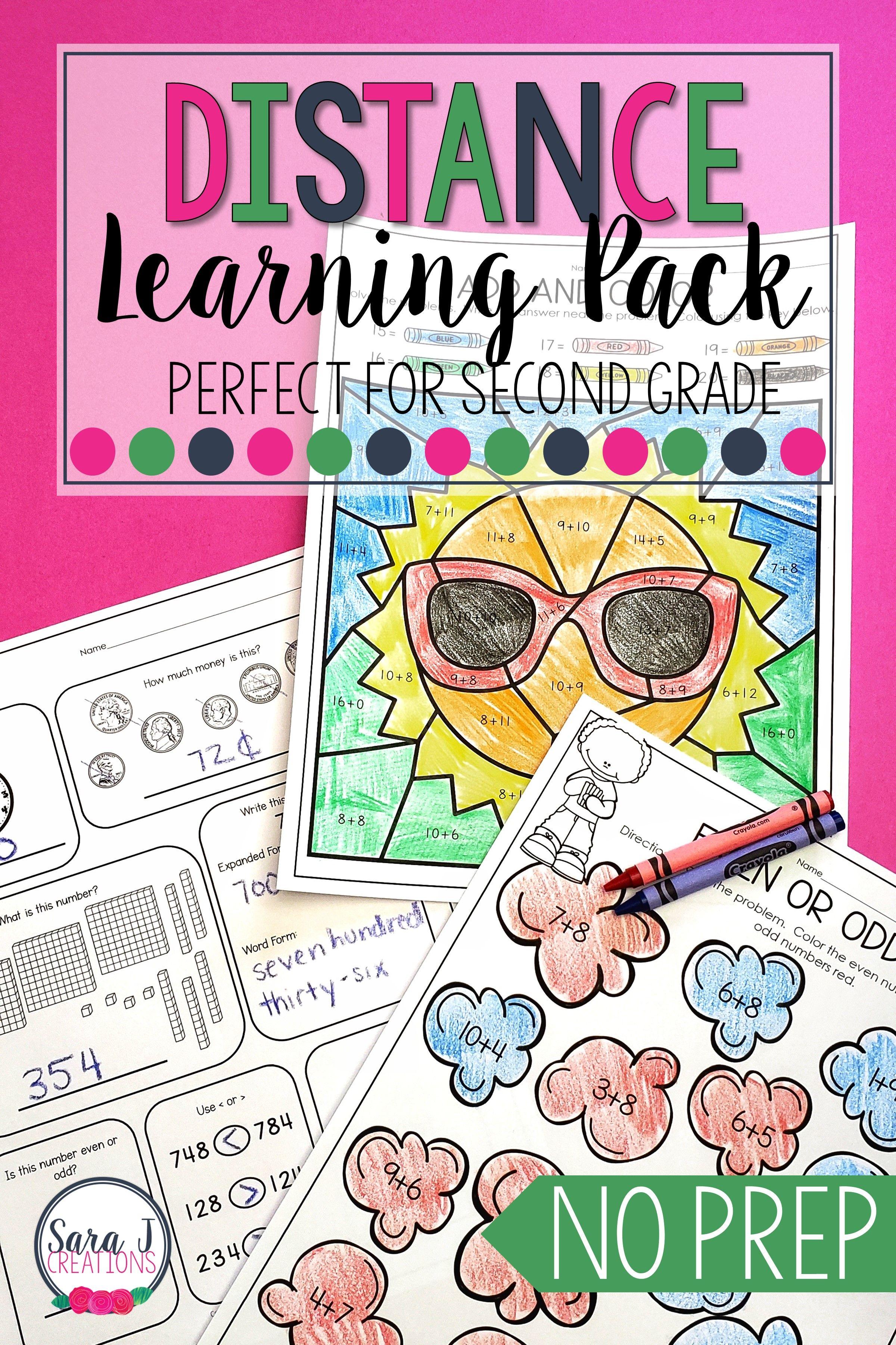 Summer Reviews Prek 4th Grade Second Grade Second Grade Math Literacy Worksheets [ 3600 x 2400 Pixel ]