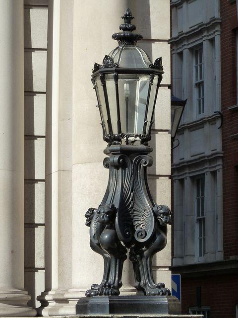 gaslamp, gaslight, gas lamp, gas light, St. James's Street ...