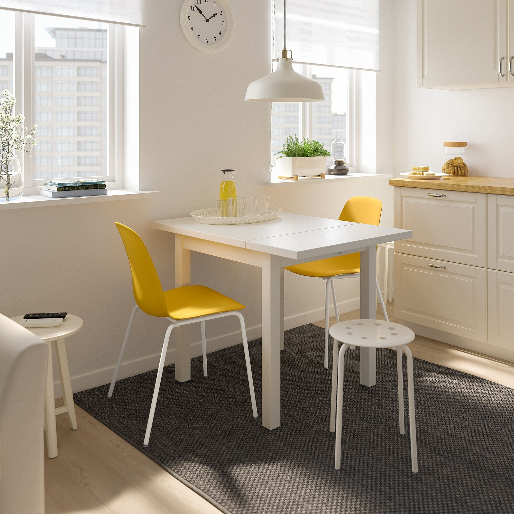 Nordviken Leifarne Yellow Dining Chairs Chair Ikea