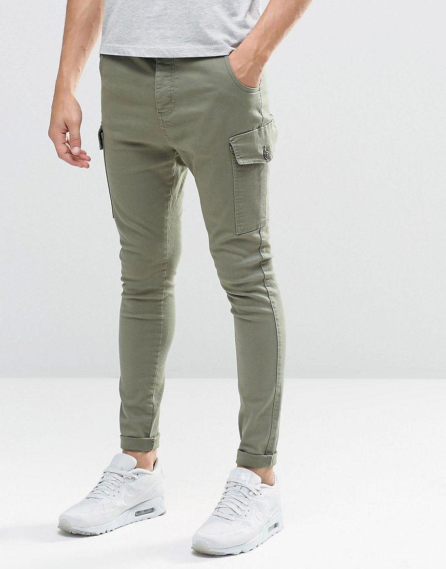 SikSilk Super Skinny Cargo Jeans at asos.com  Cargo jeans, Super