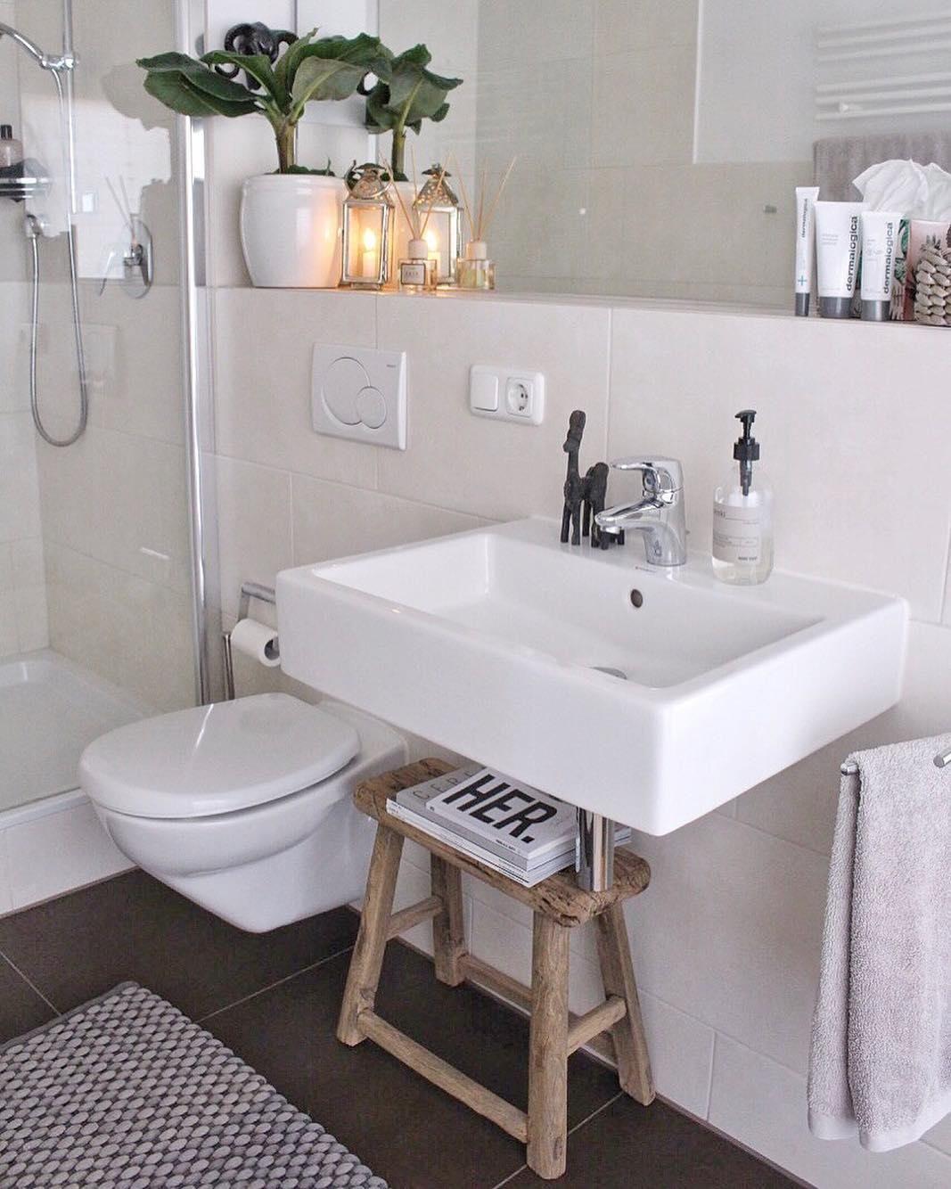 Hocker Lawas  kylppri  Badezimmer holz Wohnung