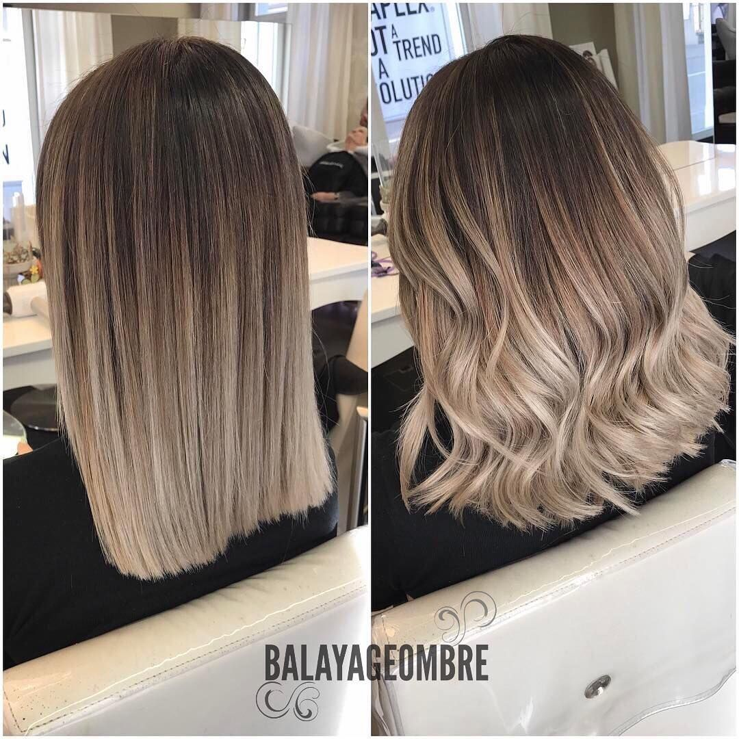 medium geschichteten frisuren in beige braun u ashblonde mode