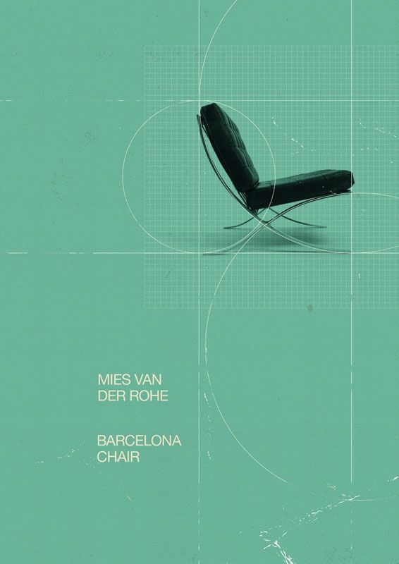 Barcelona Chair An Art Print By Marius Roosendaal Bauhaus Design Graphic Design Inspiration Design