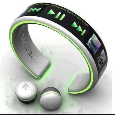 MP3 Player That Charges From Your Pulse