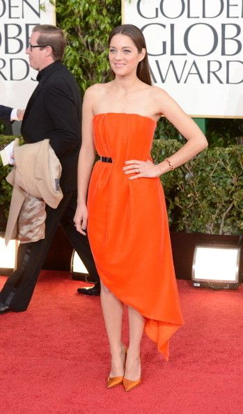 Marion Cotillard Wears Dior Haute Couture at the 2013 Golden Globes
