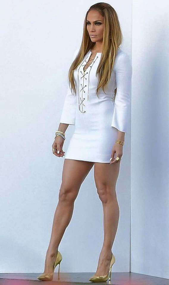 Jennifer Lopezs Sizzling Metallic Mini Makes Us Want to