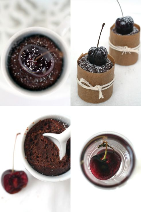 Cherry, Almond and Chocolate Mini Cakes :: Cannelle et VanilleCannelle et Vanille