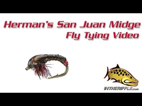 Herman's San Juan Midge Fly Tying Video Instructions
