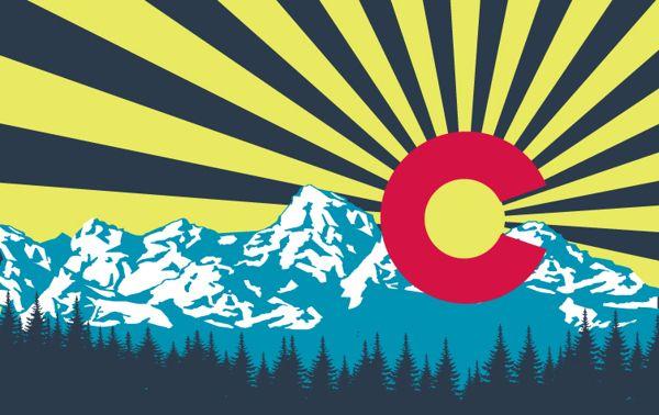 Image result for colorado flag