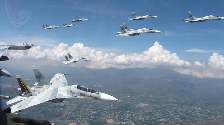 army Venezuelan Air Force Su-30s,simply awesome