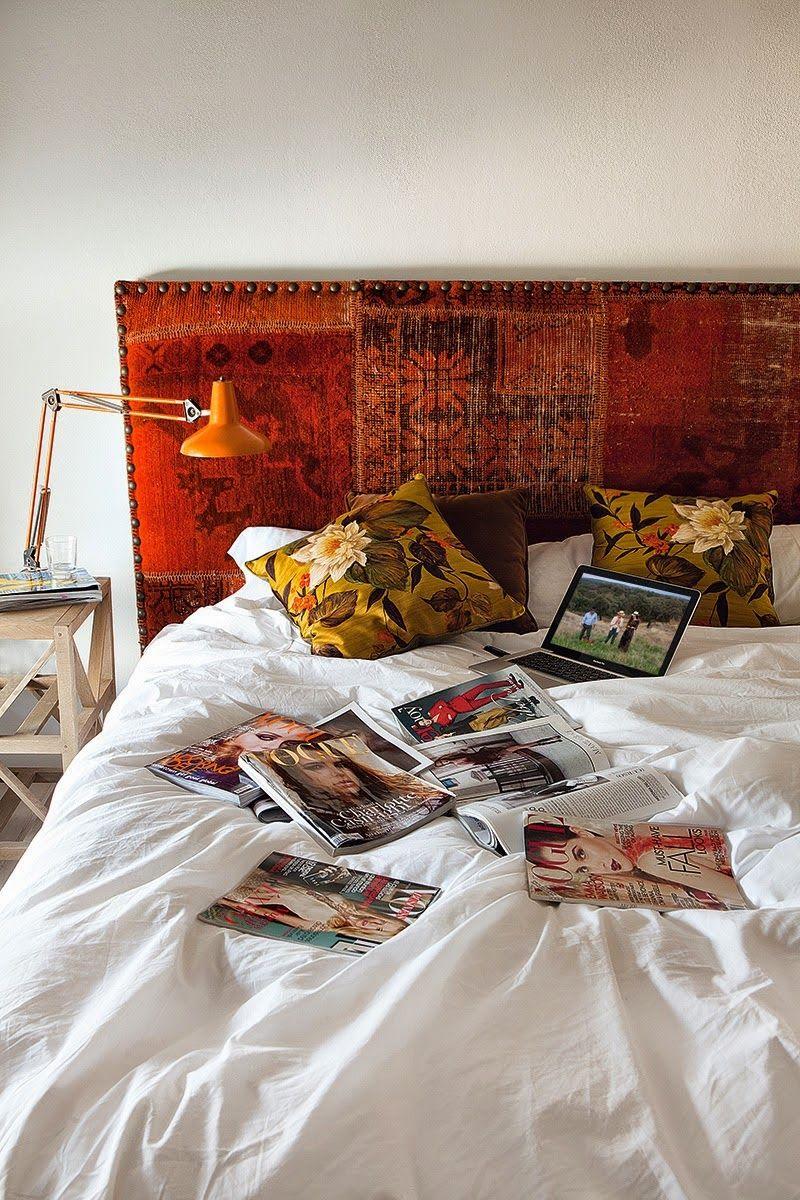 chez eugenia silva en estr madure style boh me chambres adultes deco d coration. Black Bedroom Furniture Sets. Home Design Ideas