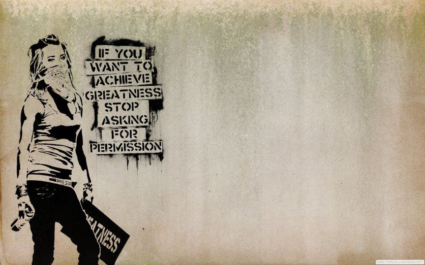 Banksy Graffiti Punk Anarchist /& Mother Poster Picture Print Wall Art A2 Size