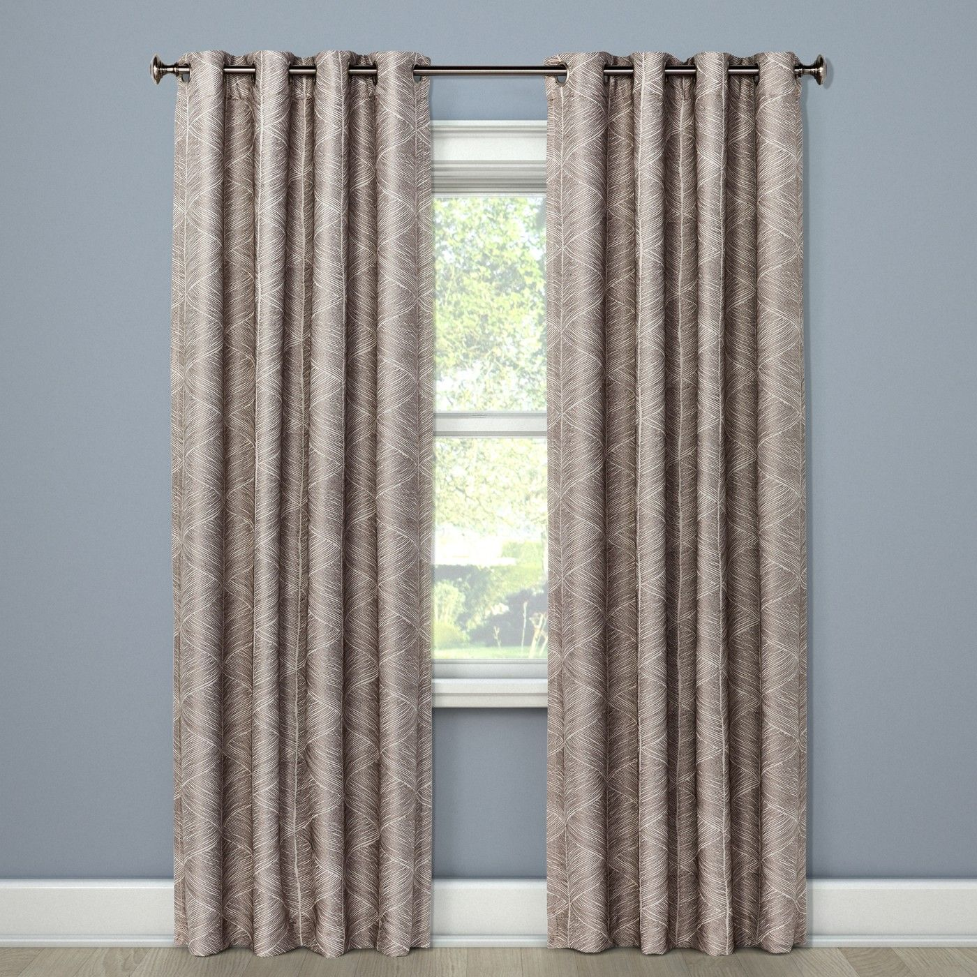 Modern Stroke Curtain Panels 84 X50 Project 62 Image 1 Of 3