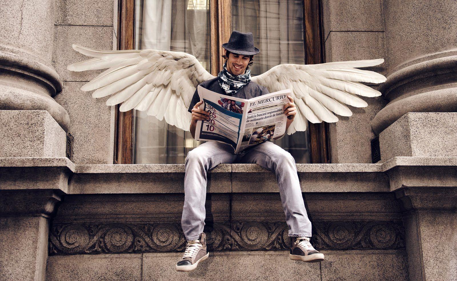 Если к вам придёт ангел с неба, добрая фея с волшебной ...