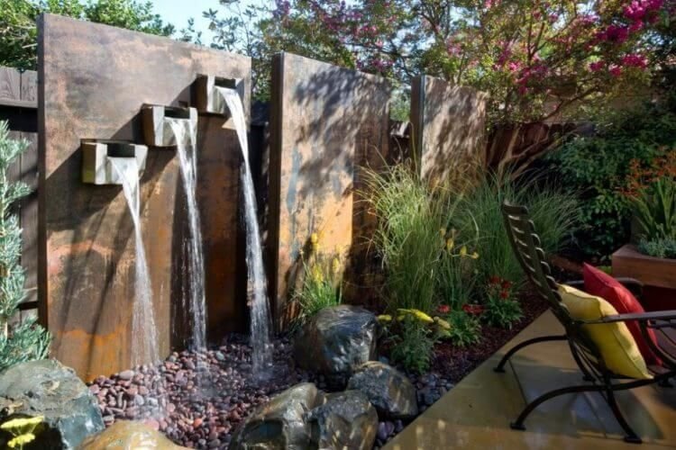 21 Backyard Wall Fountain Ideas to Wow Your Visitors Fountains
