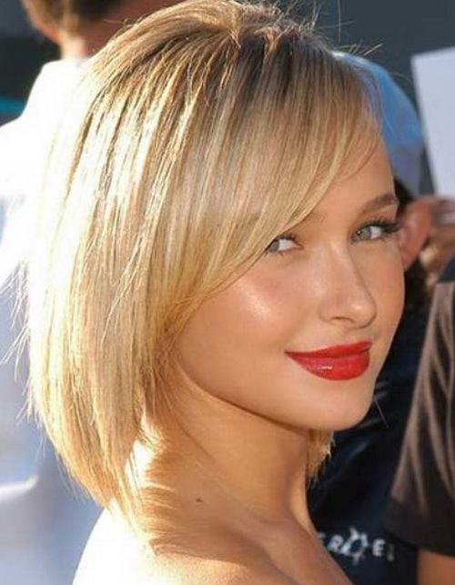 Asymmetrical Short Bob Hairstyles 2017 With Side Swept Bangs