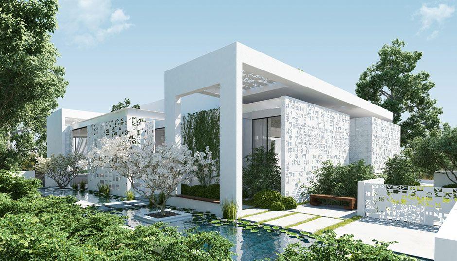 Home With A Modern Zen Garden Designed By Andos Studio Luxury House Designs House Designs Exterior Modern House Design