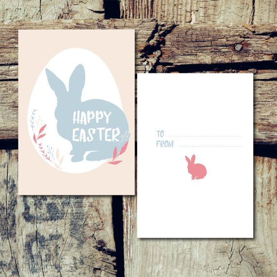 Happy Easter Card di JoleneDesign su Etsy