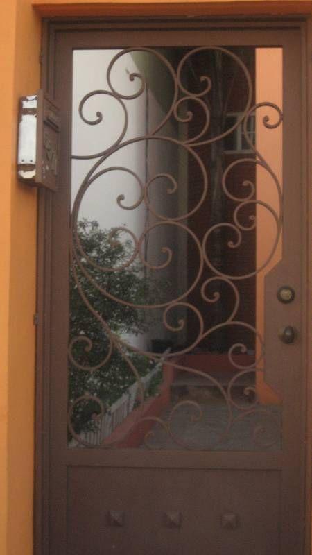Puertas de herreria para entrada principal resultado de for Puertas de herreria para casa