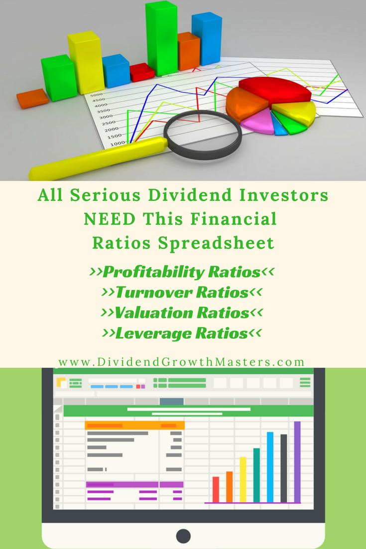 The FREE Ultimate Financial Ratios Spreadsheet For Dividend ...