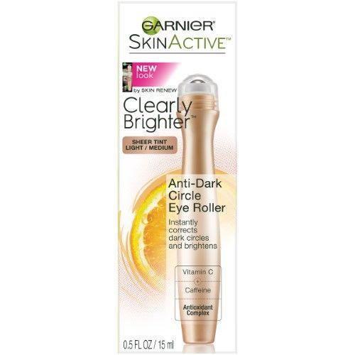 Garnier Skin Renew Anti-Dark Circle Eye Roller, Light to Medium, 0.5 Fl Oz