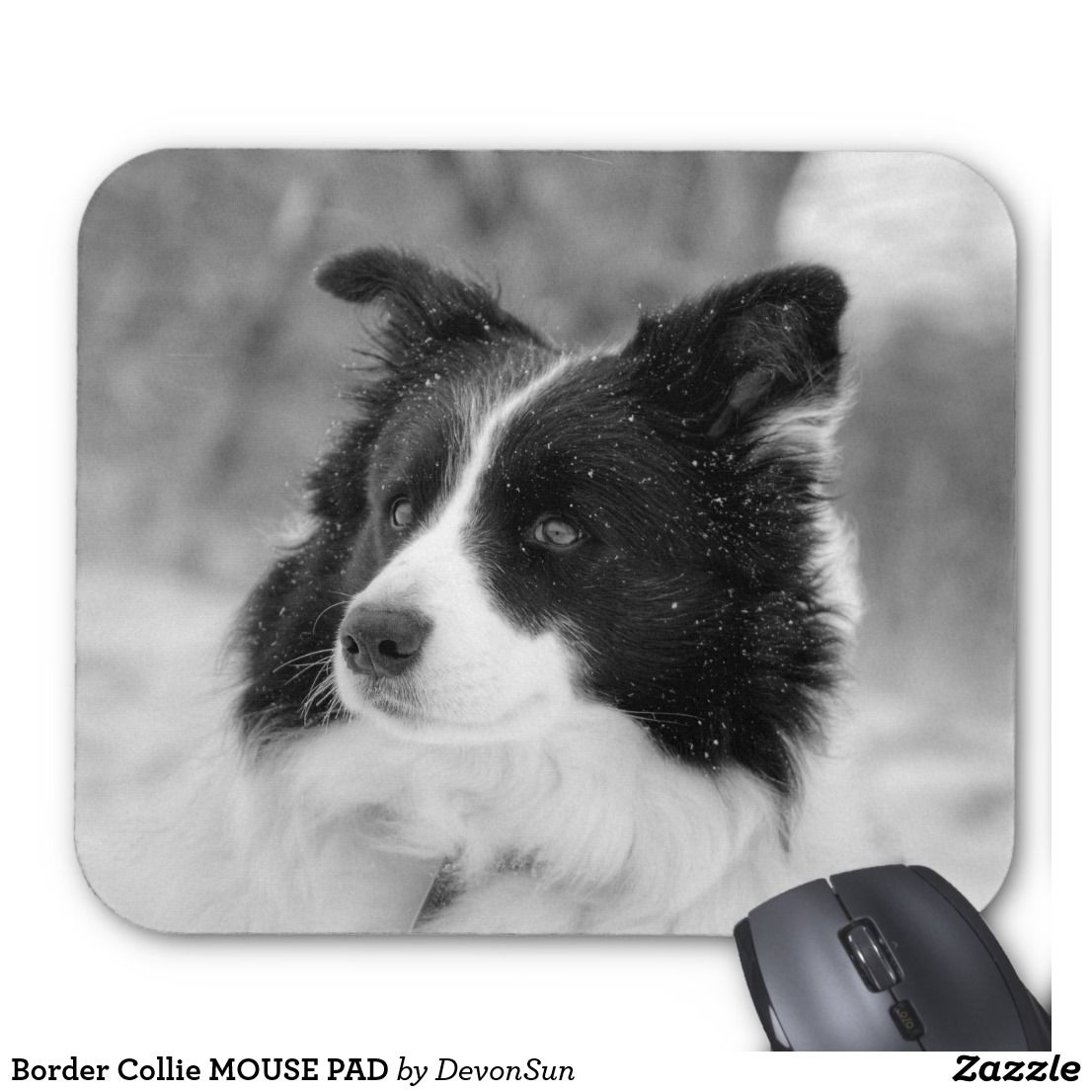 Border Collie Mouse Pad Mouse Pad Pet Gifts
