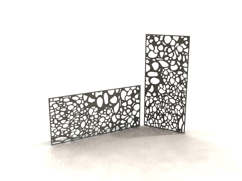 bubble panneau design d coupe laser laser cut panels racken racken metal made in. Black Bedroom Furniture Sets. Home Design Ideas