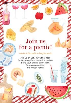 picnic invitation templates free thevillas co