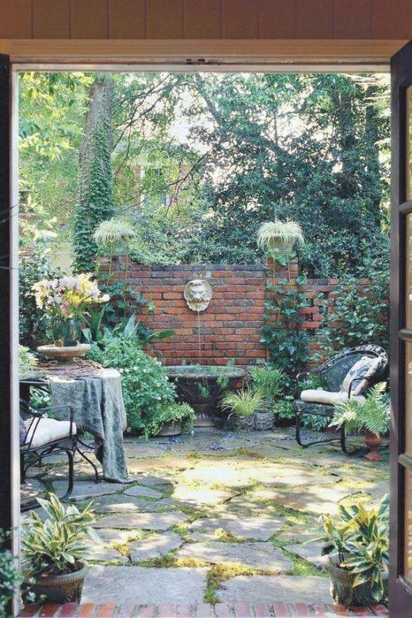 RX_1104 CC Shady Courtyard #courtyardgarden
