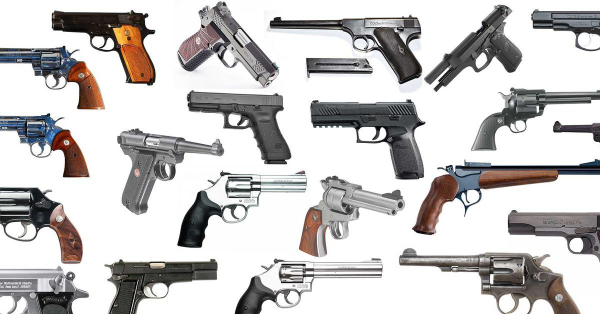 From Classic Cavalry Sidearms To Modern Concealed Carry Firearms These Are The 25 Greatest Handguns In History Best Handguns Hand Guns Guns