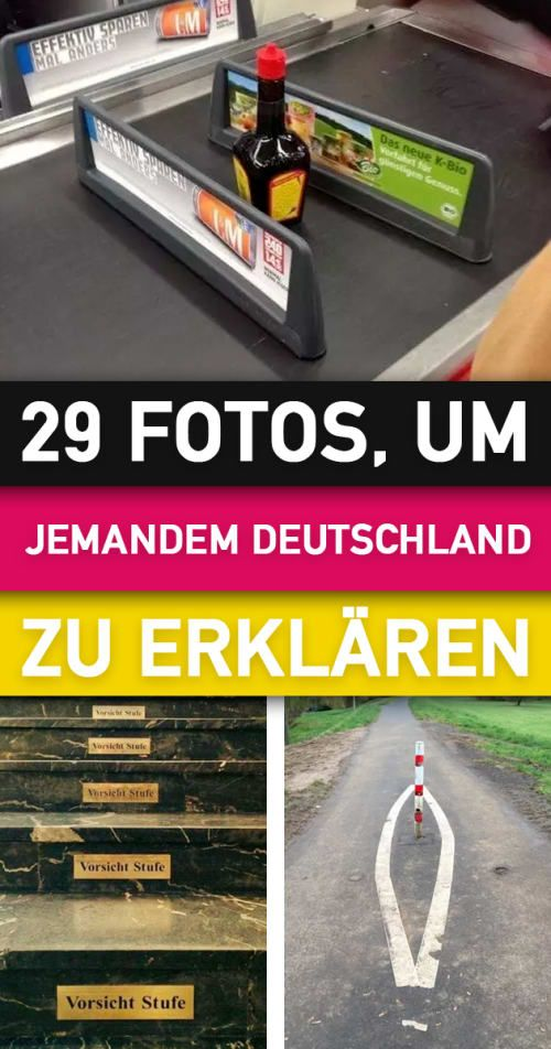 Photo of 29 photos with which you can explain to others what is typically German