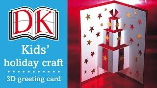 Kids christmas craft 3d greetings card youtube askartelu kids christmas craft 3d greetings card youtube m4hsunfo