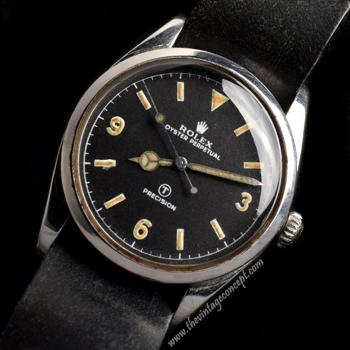 Rolex Explorer Military 6150 The Vintage Concept In 2020 Rolex Explorer Rolex Models Vintage Rolex