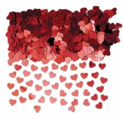 Confetti Red Hearts, Massive Bags. Buy 1 get the other Free (2 x bag 84g). This confetti adds a special touch of glamour to any Valentine's table. http://www.novelties-direct.co.uk/confetti-red-hearts-large-bag.-buy-1-get-the-other-half-price-2-x-bag-84g.html