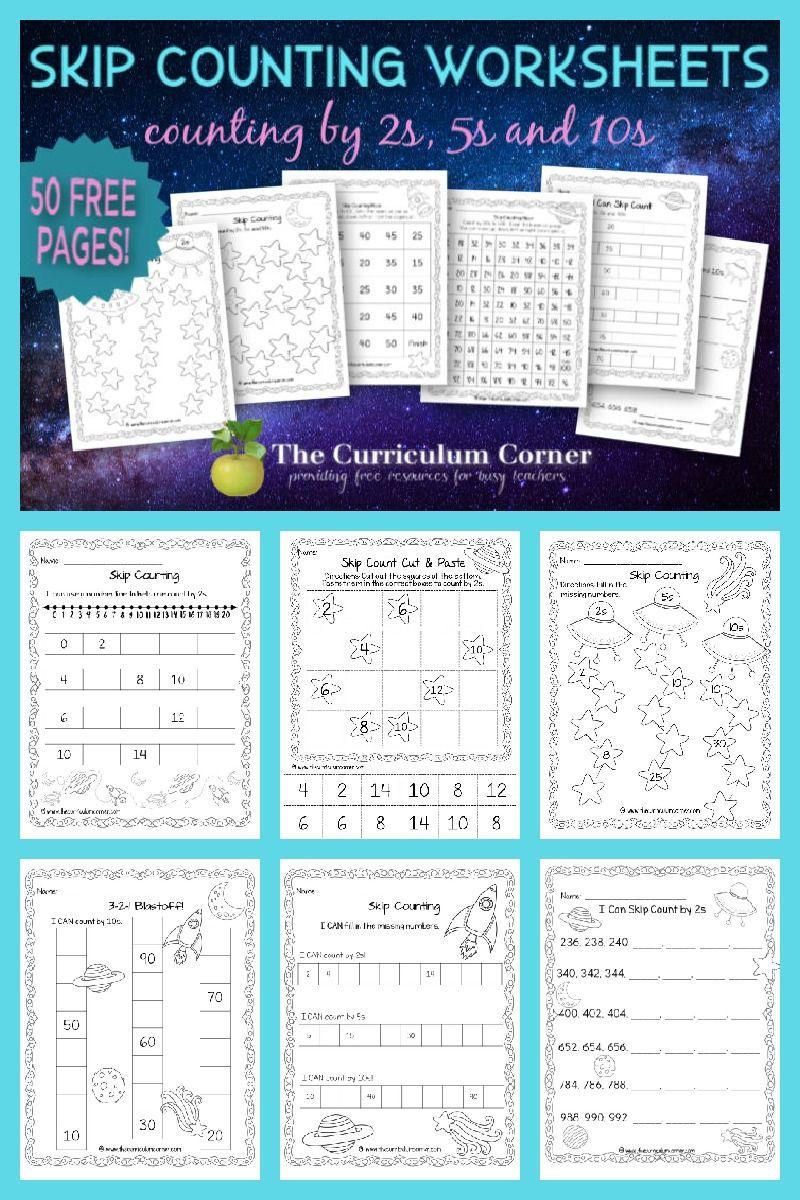 Free Skip Counting Worksheets Skip Counting Worksheets Counting Worksheets Skip Counting [ 1200 x 800 Pixel ]