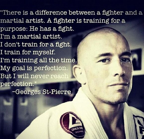 Kettlebell Training For Mixed Martial Arts Brazilian Jiu: Attached Is Georges St. Pierre Describing The Difference