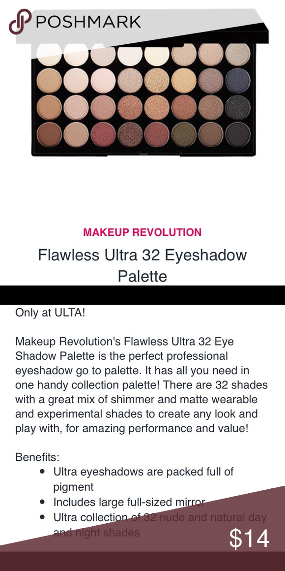 Makeup Revolution Palette Makeup revolution palette