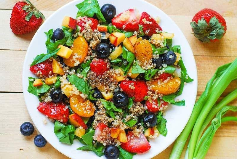 M s cenas light disfruta de las comidas ligeras salud for Como se cocina la quinoa para ensalada