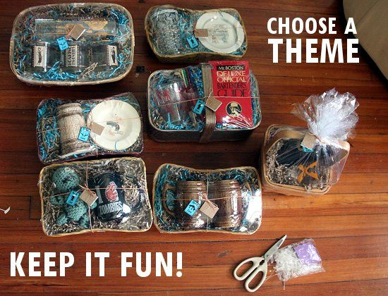 Gifts for guys thrifty vintage father 39 s day gift basket for A gift for a guy