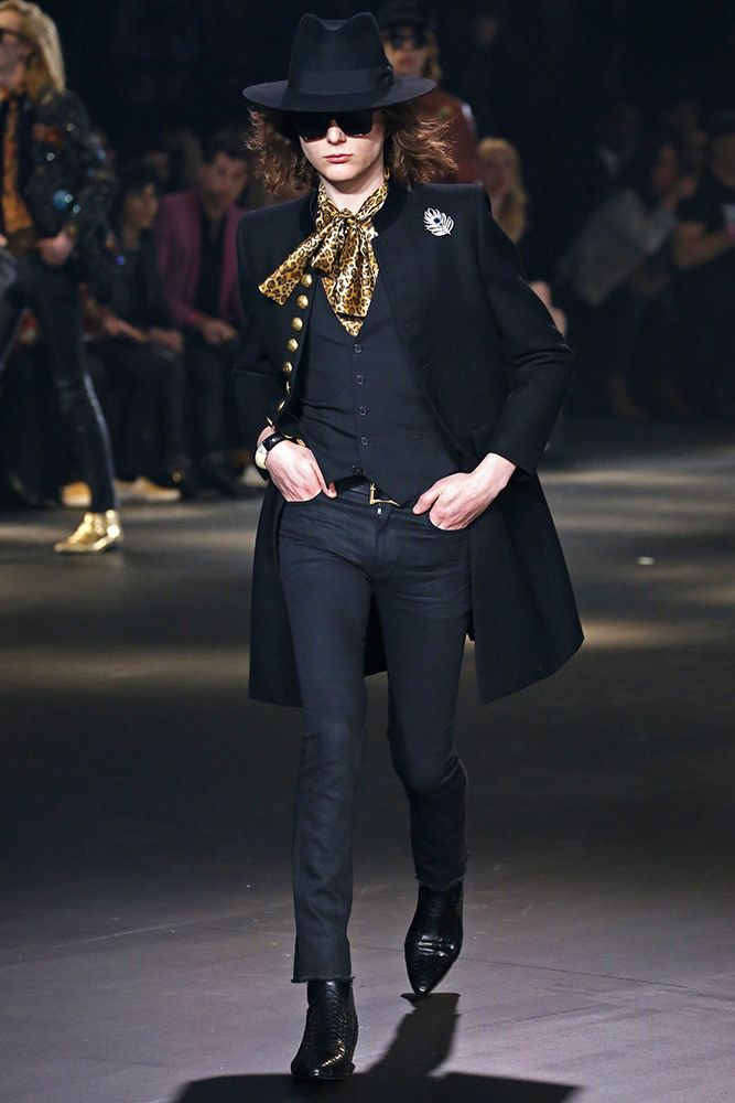 bea15ce7408 Saint Laurent Fall 2016 Menswear Fashion Show in 2019 | 2016 ...