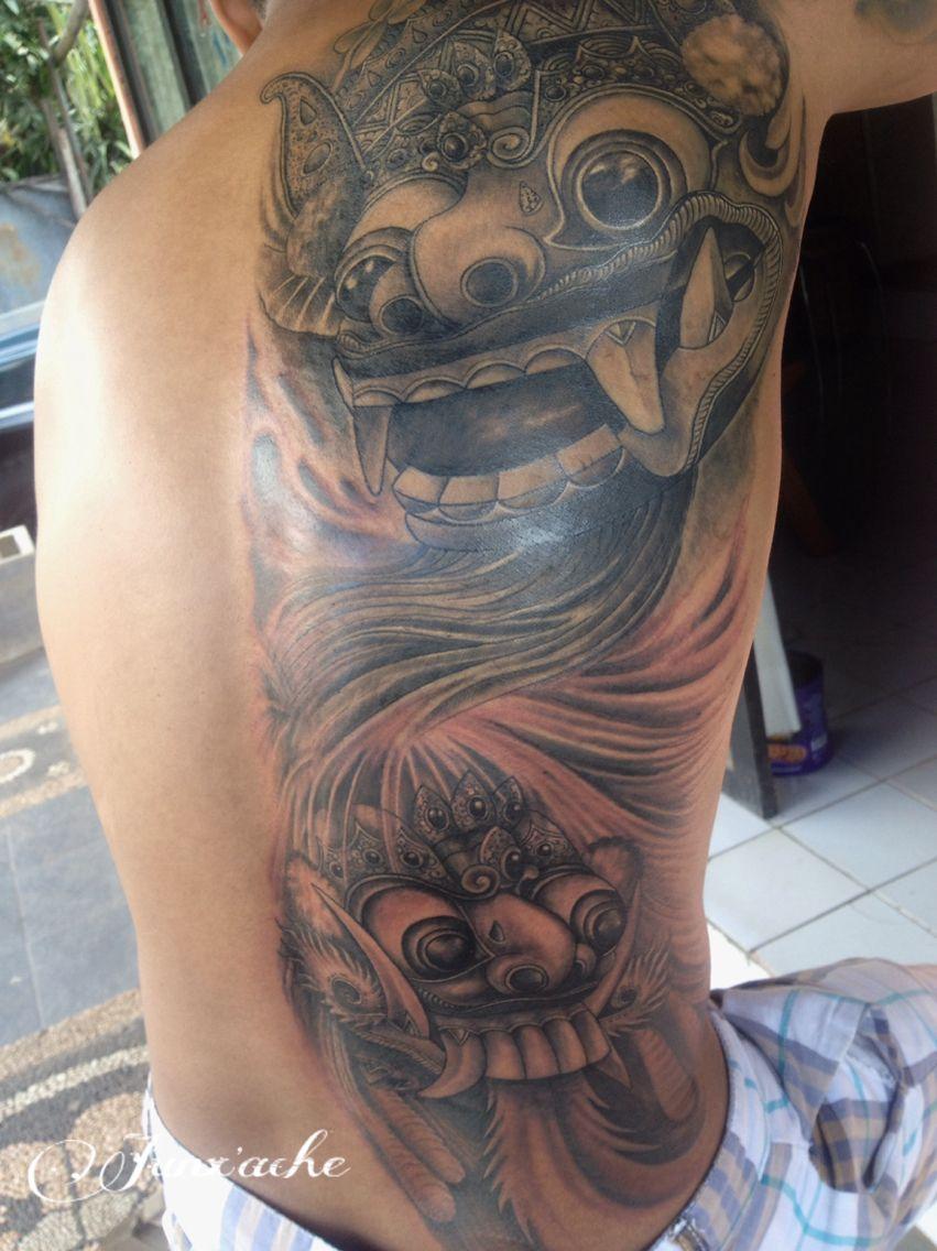 Pin Oleh Bali Global Tattoo Di Barong Bali