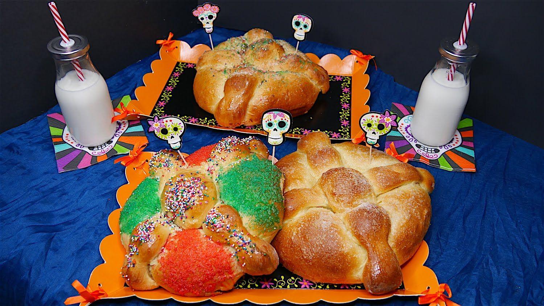 Pan de Muerto - Delicioso con Naranja y Anís - Mi Cocina Rápida